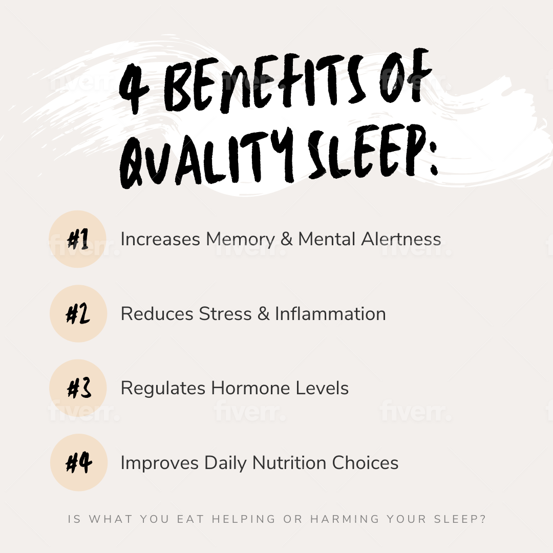 4 Benefits of Quality Sleep